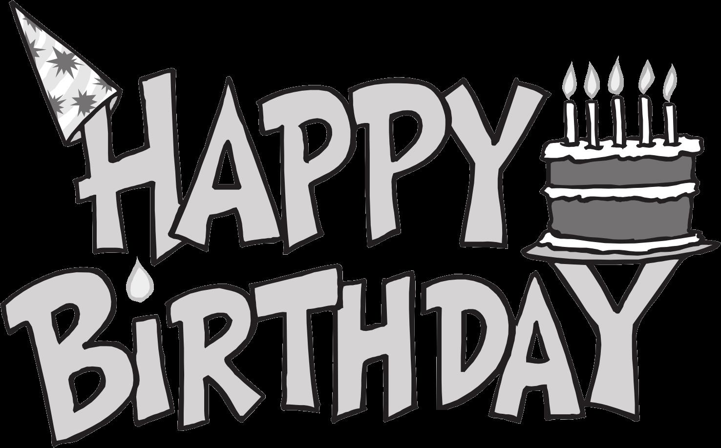 happy birthday sign black and white ; 1936433fde5e4a64bbc119a42be9b437_happy-birthday-clipart-free-black-and-white-clipartxtras-happy-birthday-banner-clipart-black-and-white_1476-918