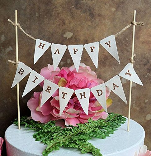 happy birthday sign cake toppers ; 61BWZOEkfhL