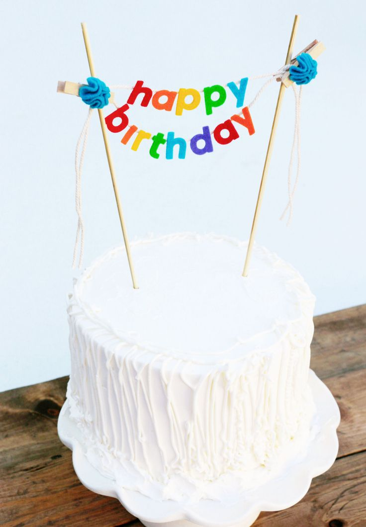 happy birthday sign cake toppers ; b709612d2c1385aceb287c0944b27c49--happy-birthday-cakes-birthday-cake-toppers