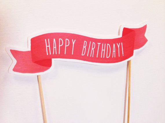 happy birthday sign cake toppers ; f810ee54ad464ce631e2166818820df4