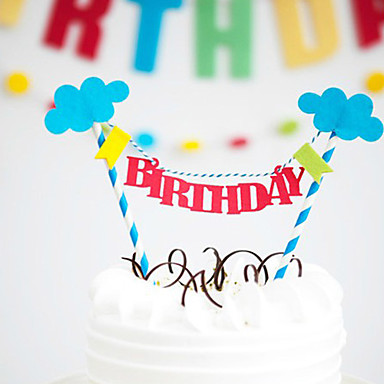happy birthday sign cake toppers ; qprxuu1438654378371