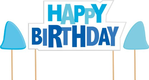 happy birthday sign for cake ; 41gP1aS-N5L