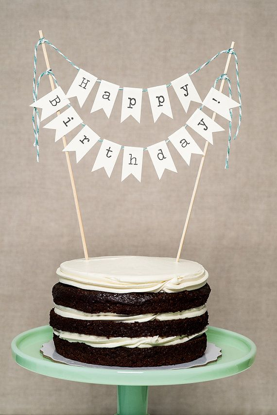 happy birthday sign for cake ; birthday-cake-banner-round-white-black-delicious-cake-with-happy-birthday-banner-paper-happy-birthday-cake-banner-by-lingeringdaydreams-on-etsy-24-usd