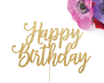 happy birthday sign for cake ; il_340x270