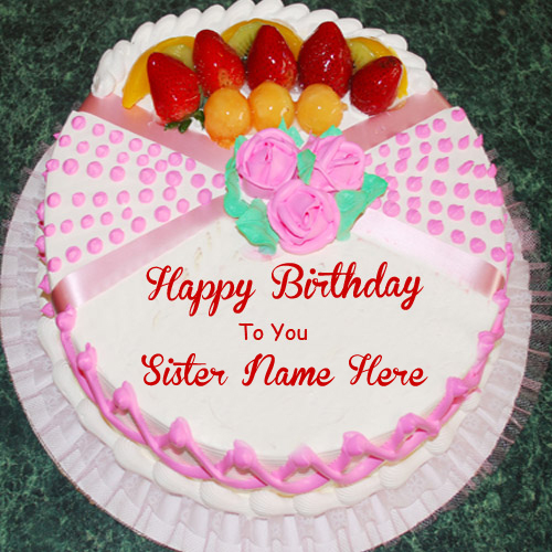 happy birthday sister cake images ; 1455030354_36440221