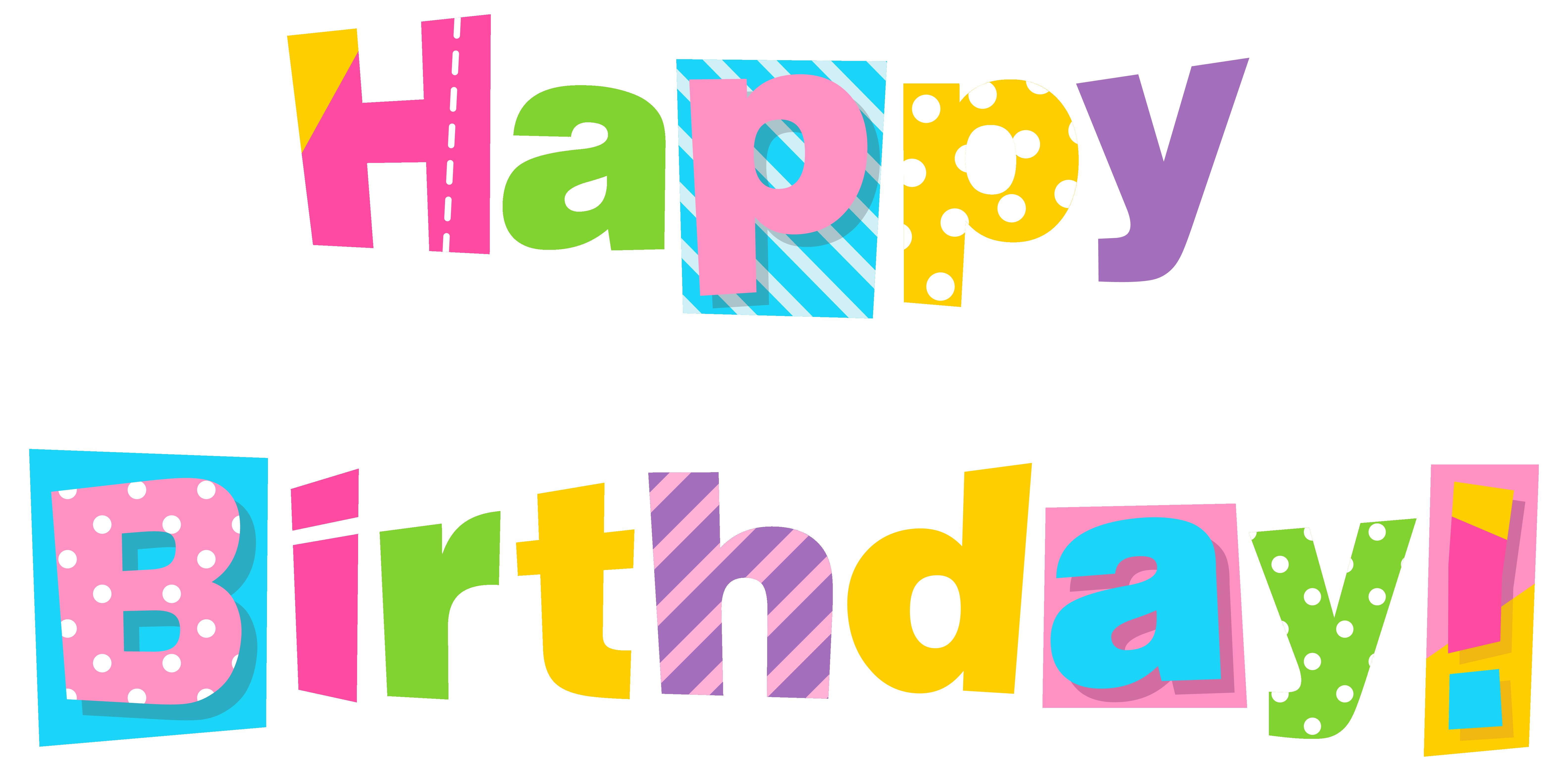 happy birthday sister clipart ; Colorful-happy-birthday-clipart-image