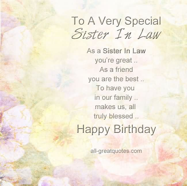 happy birthday sister in law quotes pictures ; 273303-To-A-Very-Special-Sister-In-Law-Happy-Birthday