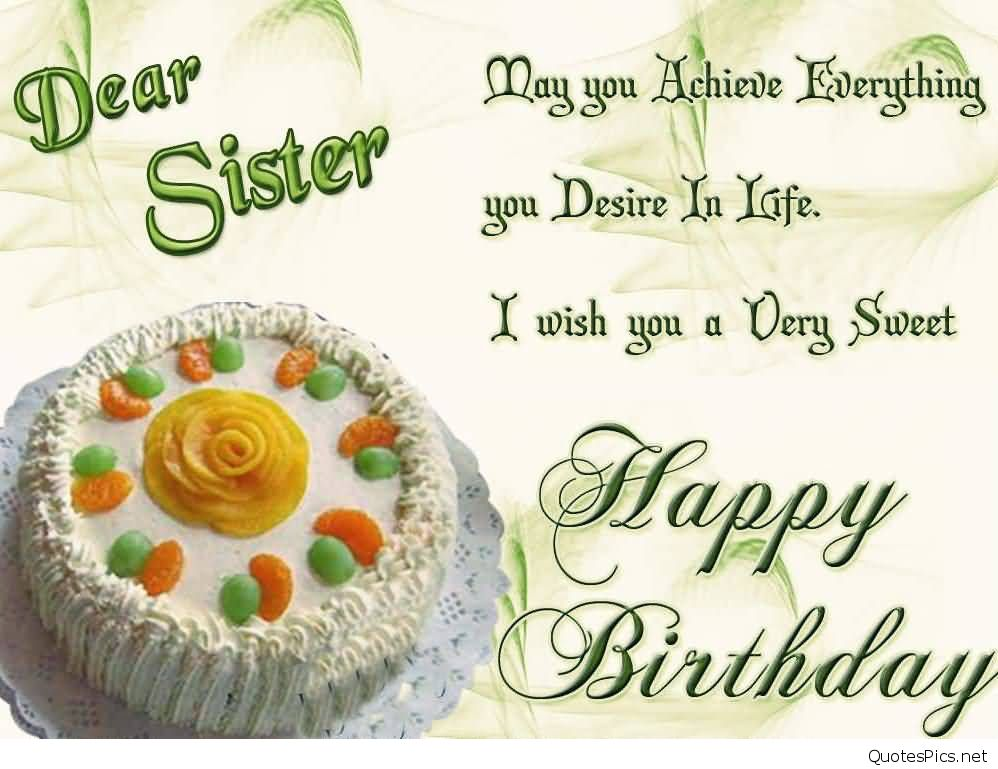happy birthday sister wallpaper ; wonderful-delicious-cake-birthday-wishes-for-sister-e-card
