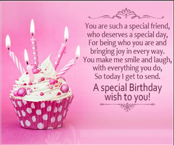 happy birthday special friend ; birthday-message-for-a-special-friend
