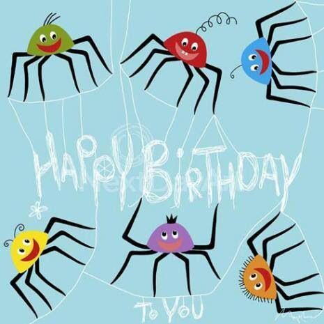 happy birthday spider ; 40fab49de4fad1715aeb360ee50ed620--birthday-wishes-happy-birthday