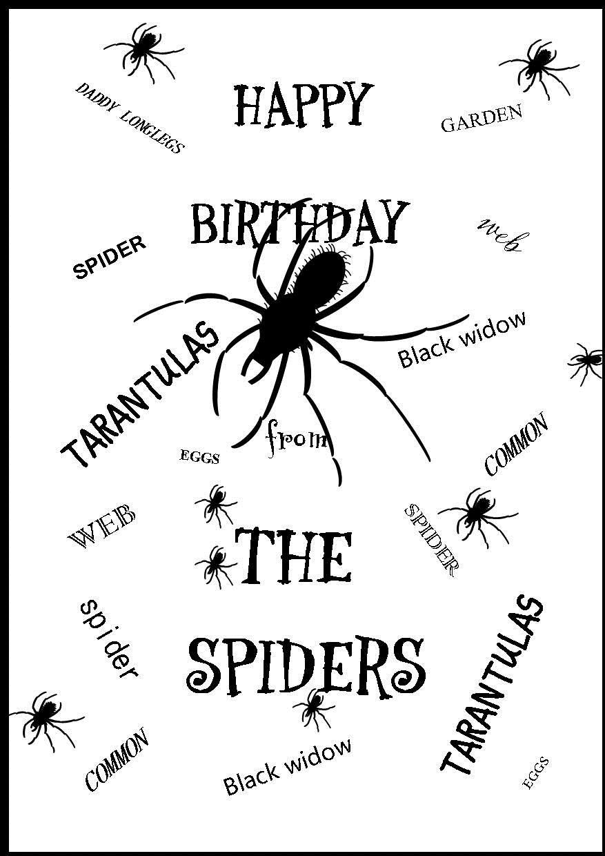 happy birthday spider ; happy-birthday-from-the-spiders-1-136-p