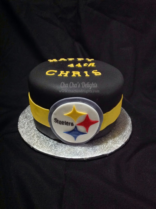 happy birthday steelers fan ; Steelers%252Bcake