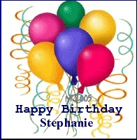 happy birthday stephanie images ; stephiebdayballoons