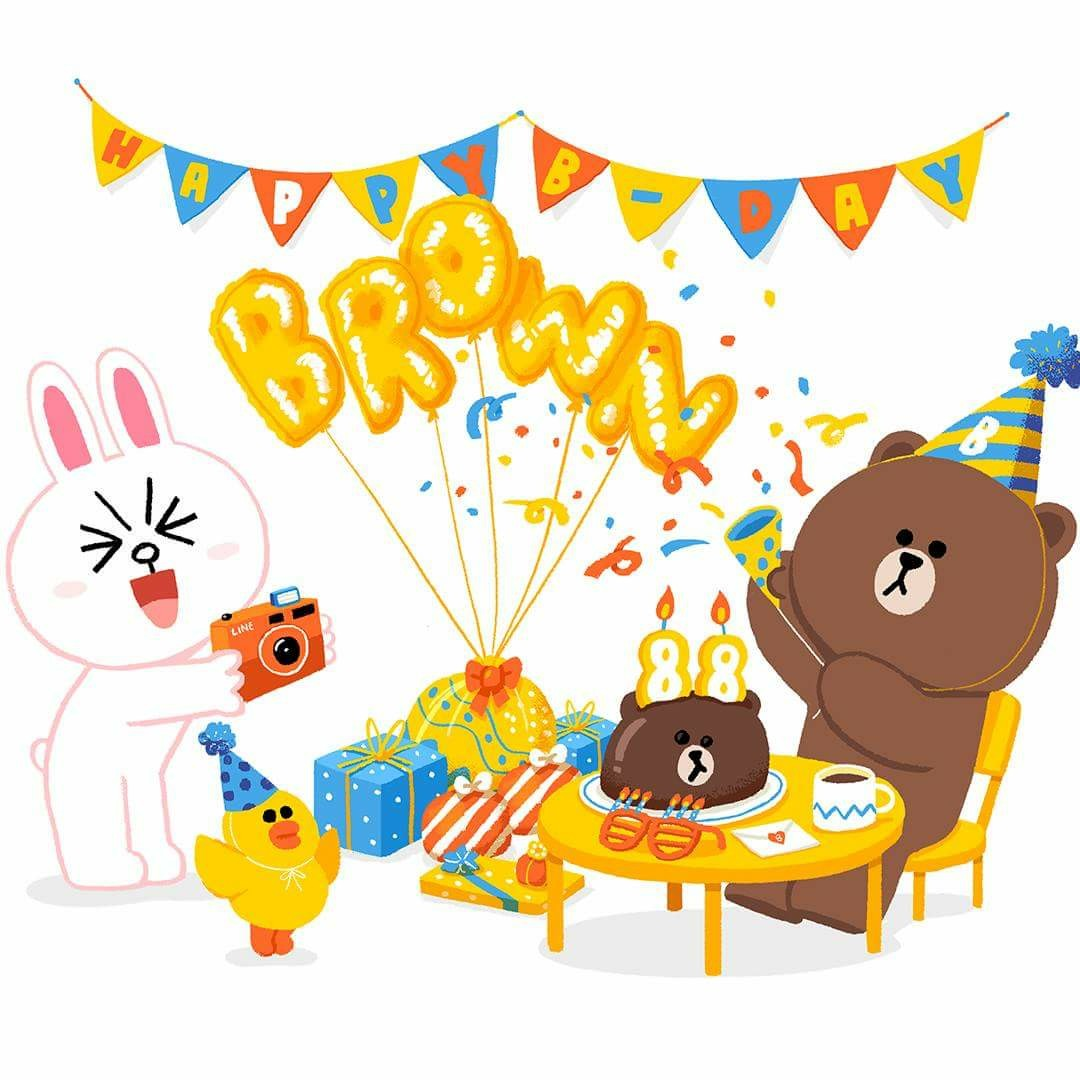 happy birthday sticker line ; 2b06059073142782e153c796bec76bc7