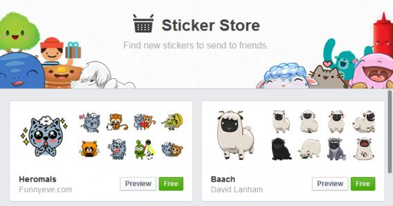 happy birthday stickers for facebook messenger ; Facebook-stickers-store-568x298