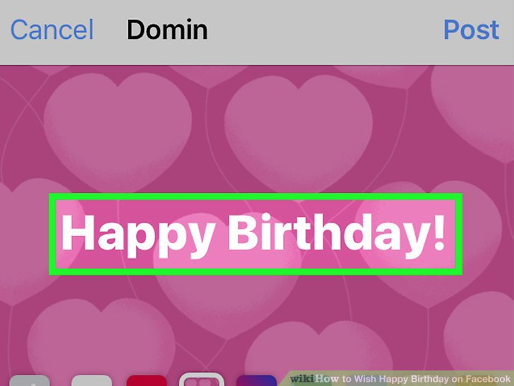 happy birthday stickers for facebook messenger ; aid8610823-v4-728px-Wish-Happy-Birthday-on-Facebook-Step-6