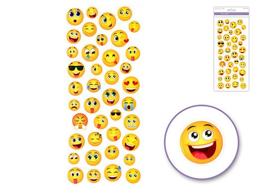 happy birthday stickers for messenger ; small-happy-face-emoji-icon-stickers-round-messenger-diy-40pc-sheet-2