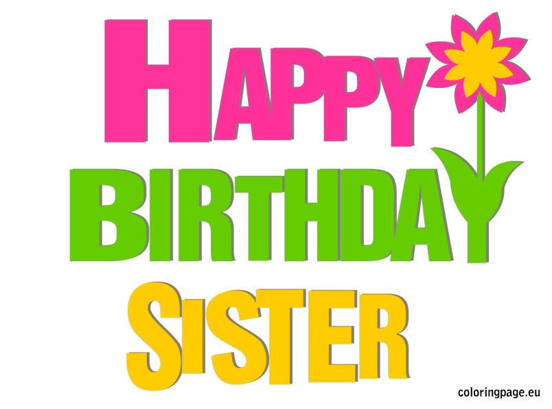 happy birthday stickers for sister ; 8e291bf96a90c3ec007b202078ac423a