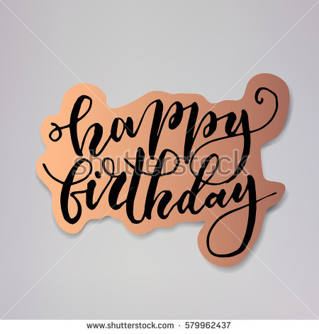 happy birthday stickers hd ; stock-vector--happy-birthday-vector-illustration-design-of-modern-badge-with-text-isolated-on-bronze-579962437