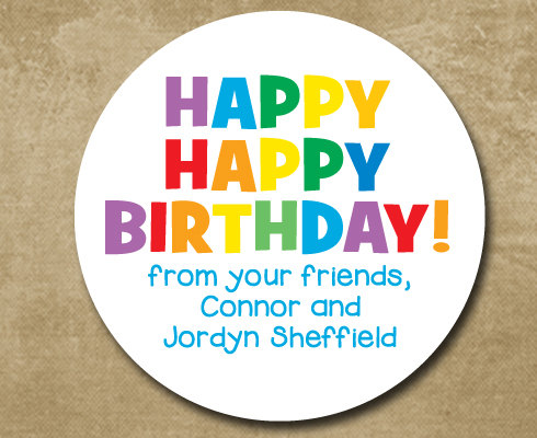 happy birthday stickers personalized ; b33a5bf4e6c057629d643c7e282b5329