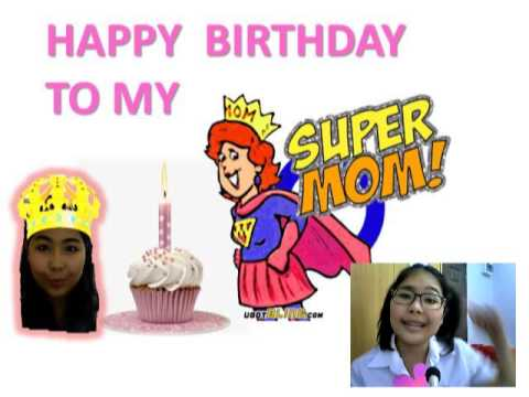 happy birthday super mom ; hqdefault