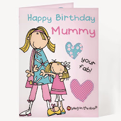 happy birthday super mom ; personalised-bang-on-the-door-happy-birthday-mummy-card-675-p