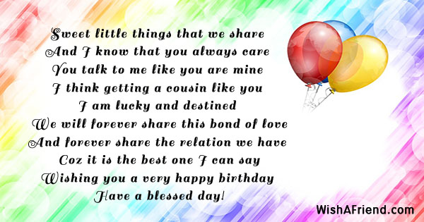 happy birthday sweet cousin ; 18899-birthday-messages-for-cousin