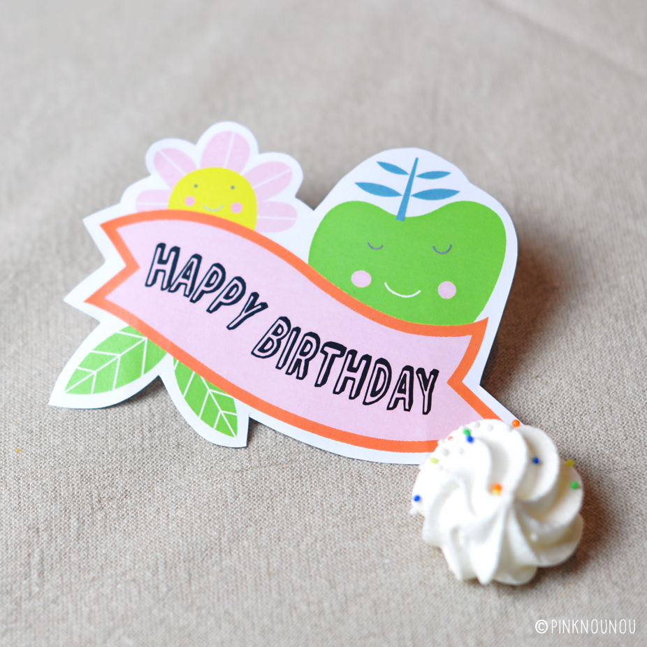 happy birthday tag ; 2015May-HappyBirthday%2520topper-by-PinkNounou-1