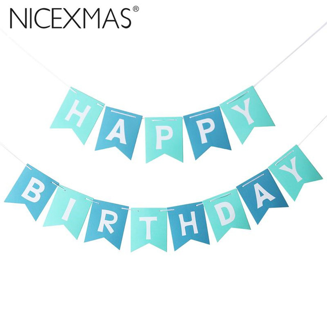 happy birthday tag ; Cute-Baby-Kids-Happy-Birthday-Banner-Garland-Hanging-White-Letters-Tag-Photo-Props-Garlands-Wedding-Decoration
