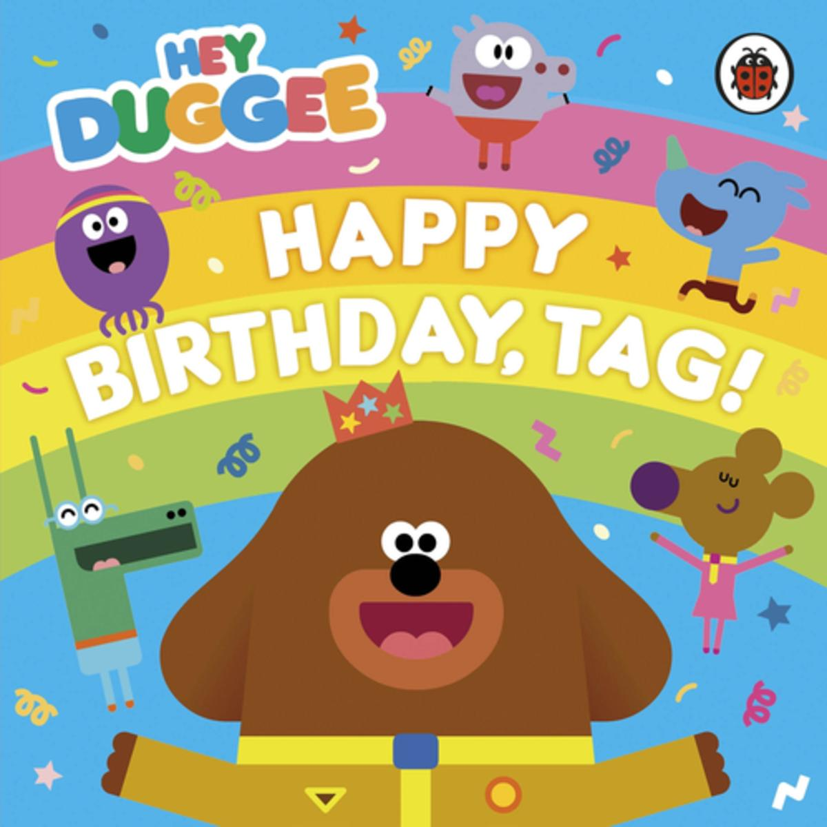 happy birthday tag ; hey-duggee-happy-birthday-tag