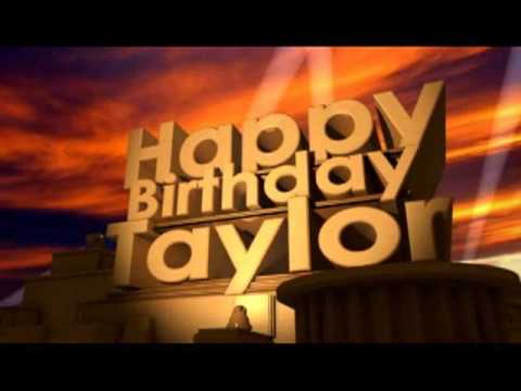 happy birthday taylor images ; hqdefault