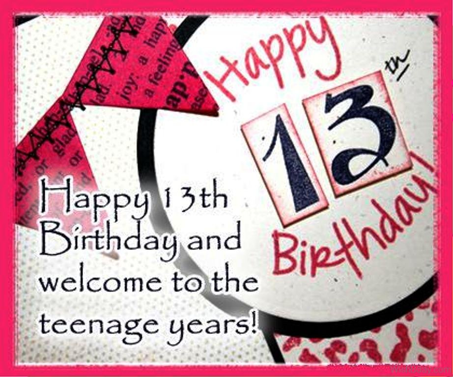 happy birthday teenager ; Happy-Birthday-With-Welcome-To-The-Teenage-Years