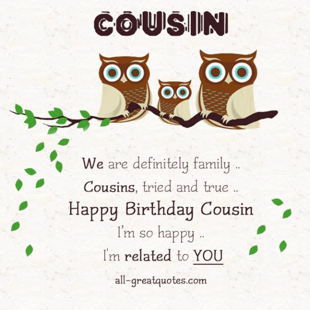 happy birthday to a special cousin ; 20ee1b649da35db0236ffdde38c8f64b