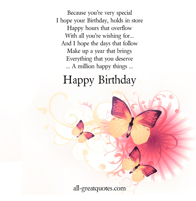happy birthday to a wonderful person ; a00824ec0994571e845194b741345d3c