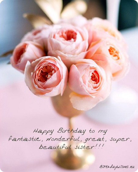 happy birthday to a wonderful sister ; birthday-quotes-for-sister