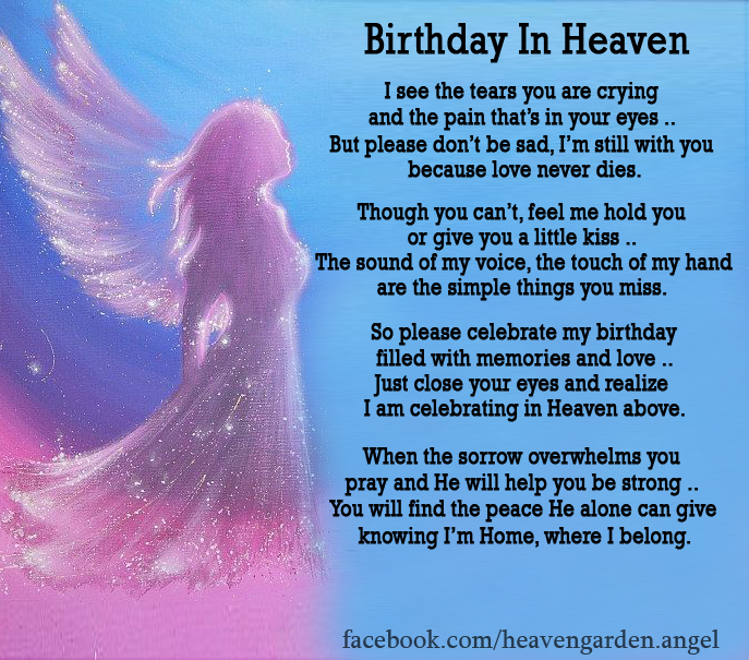 happy birthday to my angel in heaven ; Happy-Birthday-in-Heaven-4