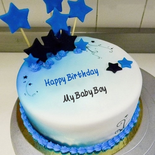 happy birthday to my baby boy ; blue-stars-birthday-cake-for-My%2520Baby%2520Boy