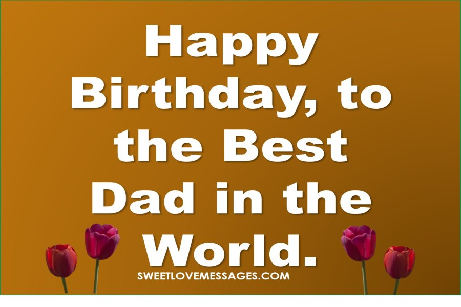 happy birthday to my dad ; birthday_message_for_father