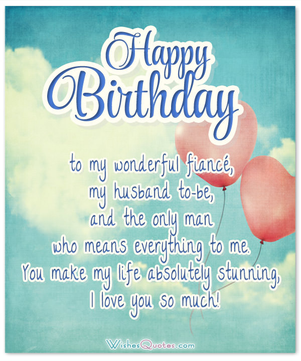 happy birthday to my fiance ; Happy-birthday-to-my-wonderful-fiance