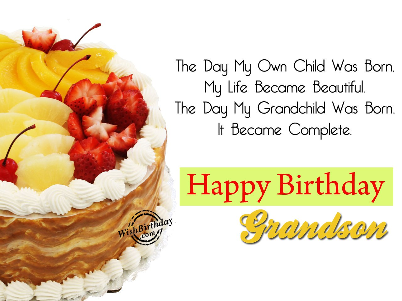 happy birthday to my grandson images ; The-Day-My-Grandchild-Was-Born