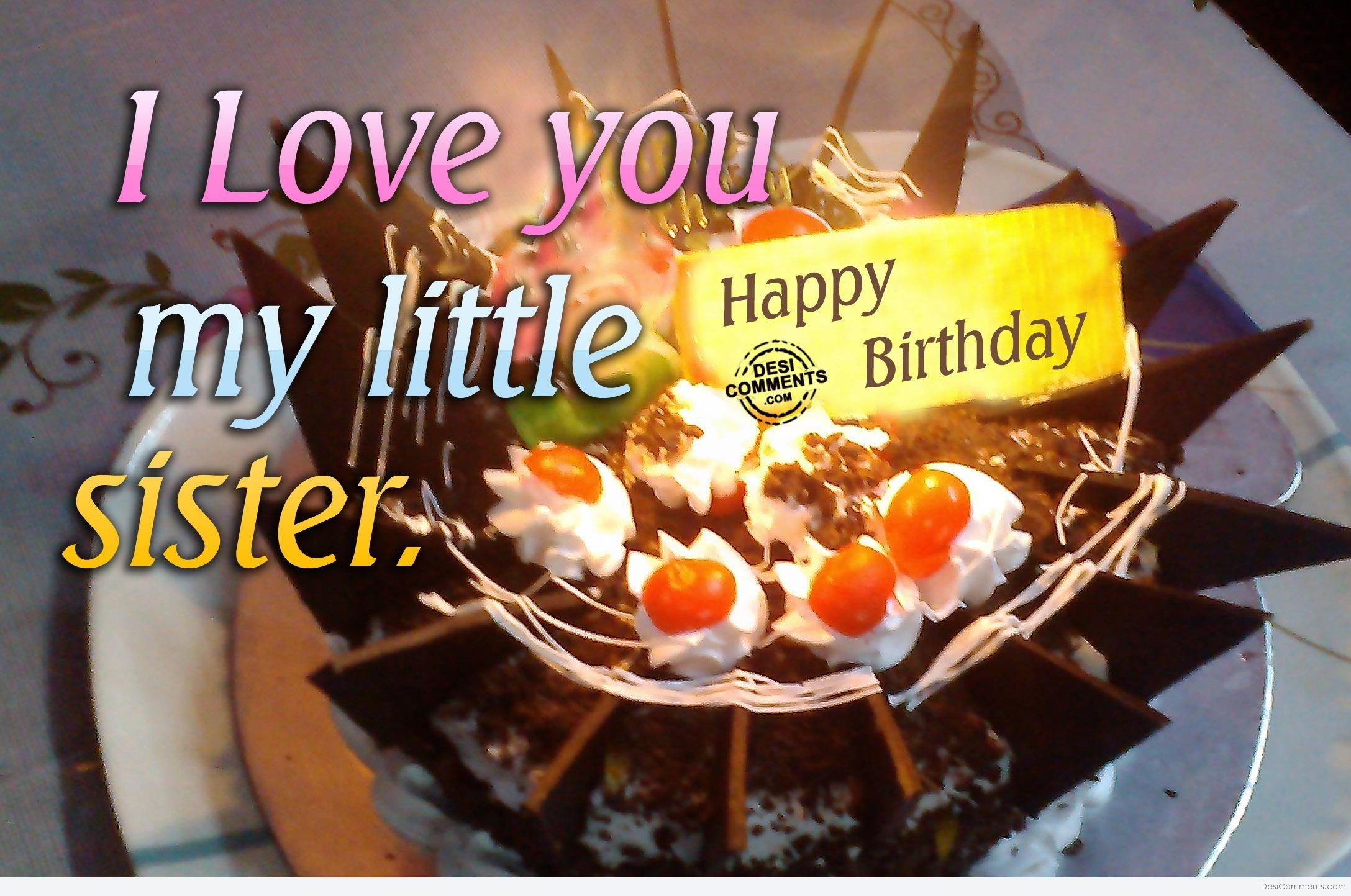 happy birthday to my little sister ; 272222