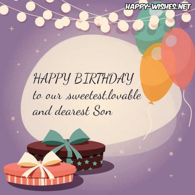 happy birthday to our son ; HappyBirthdayWishesforSon-images3