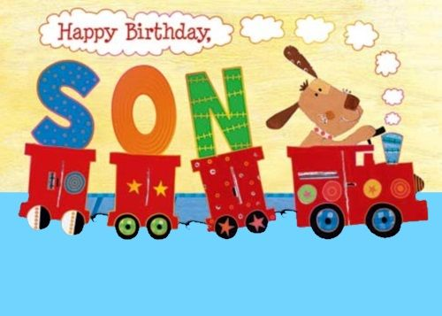 happy birthday to our son ; birthday-wishes-son