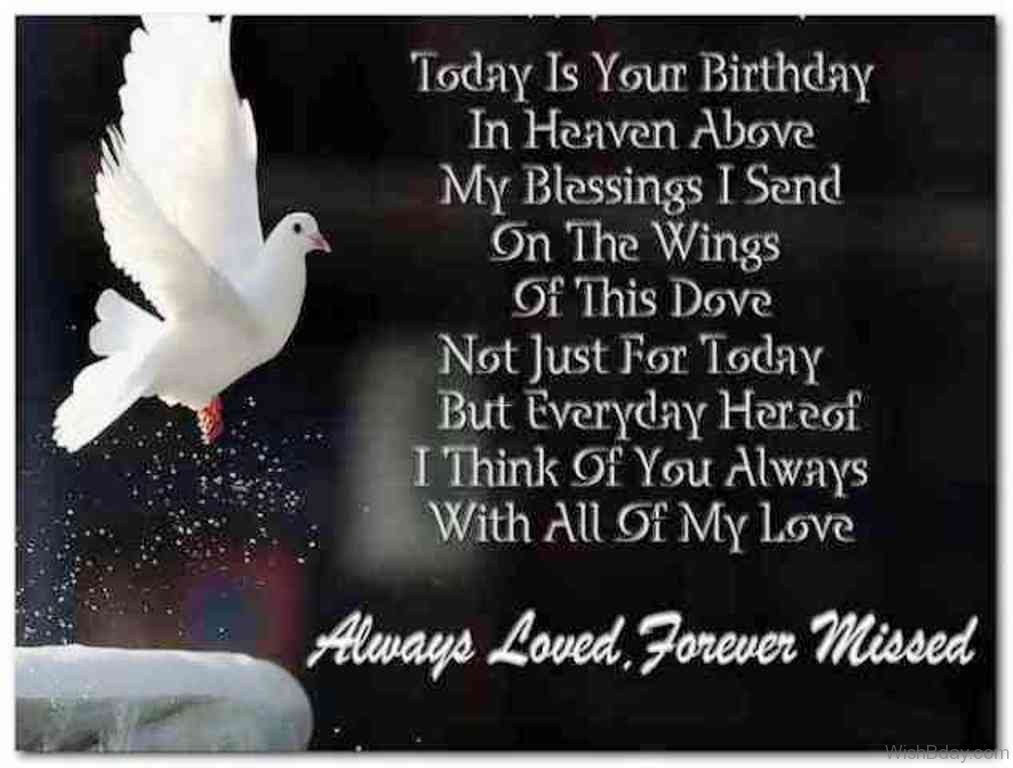 happy birthday to someone in heaven ; Always-Loved-Forever-Missed