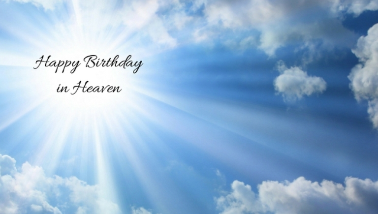 happy birthday to someone in heaven ; happy-birthday-in-heaven-cousin