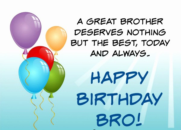 happy birthday to the best brother ; advance-birthday-wishes-for-brother-images