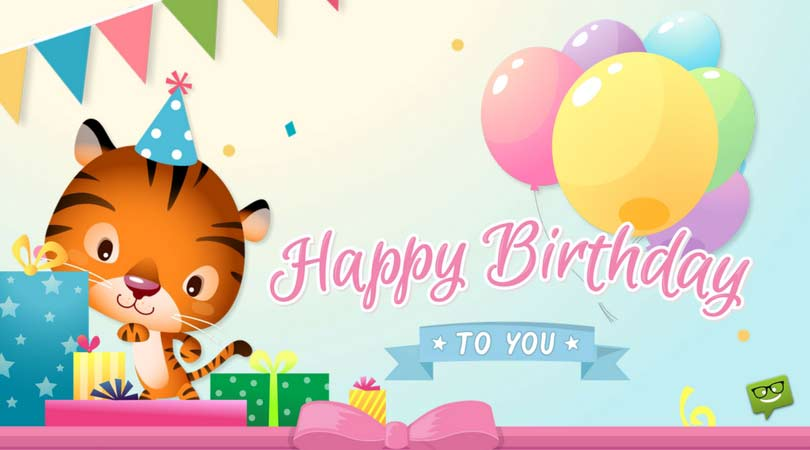 happy birthday to you happy birthday happy birthday ; cute-birthday-message-for-friend-with-gifts-and-balloons-1