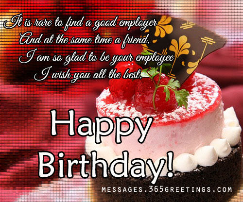 happy birthday to you i wish you all the best ; boss-birthday-wishes