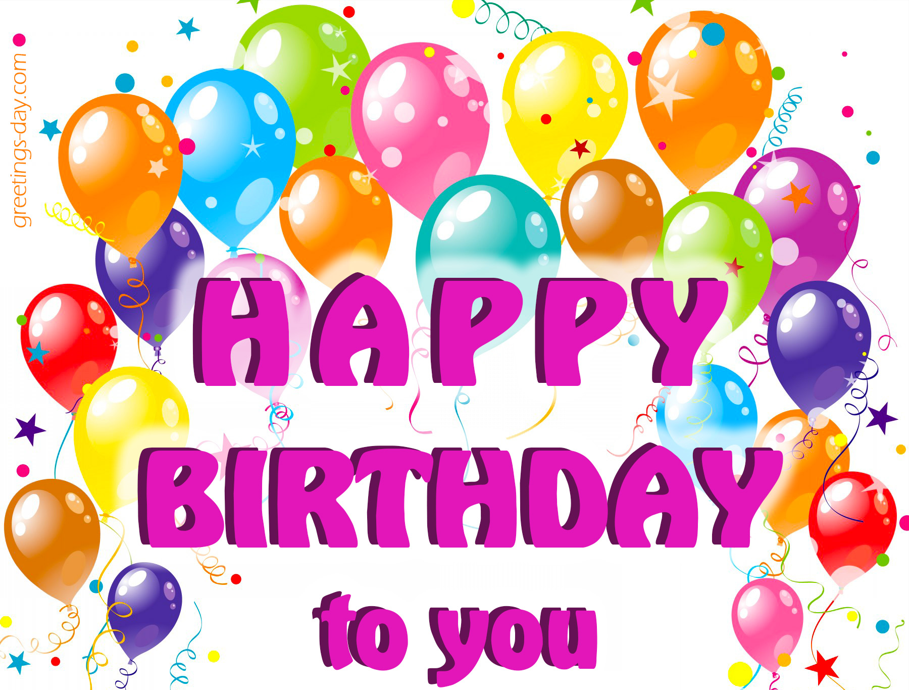 happy birthday to you pic ; happy-birthday-pictures