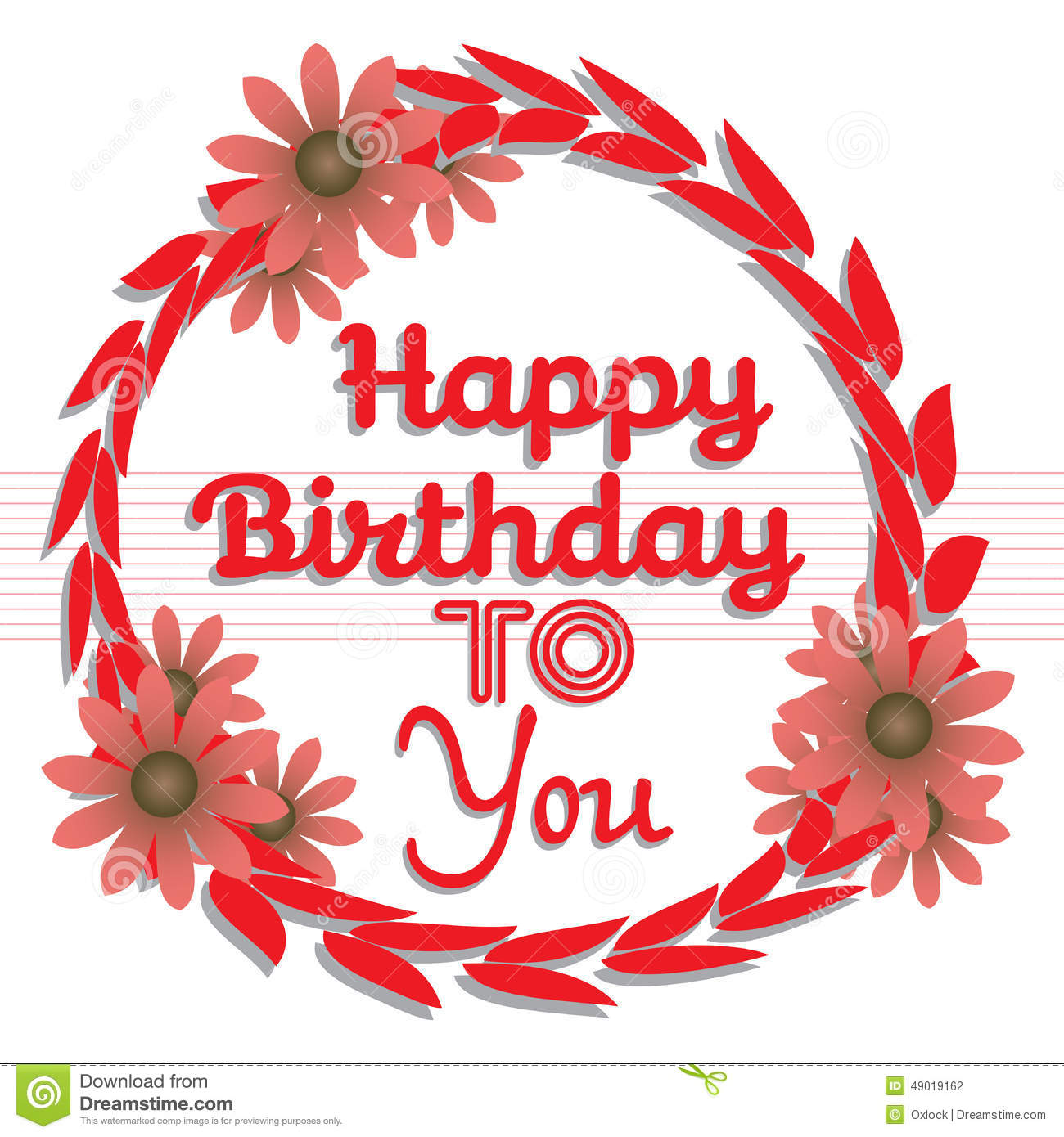 happy birthday to you pic ; happy-birthday-to-you-abstract-colorful-background-red-flowers-text-written-red-letters-49019162